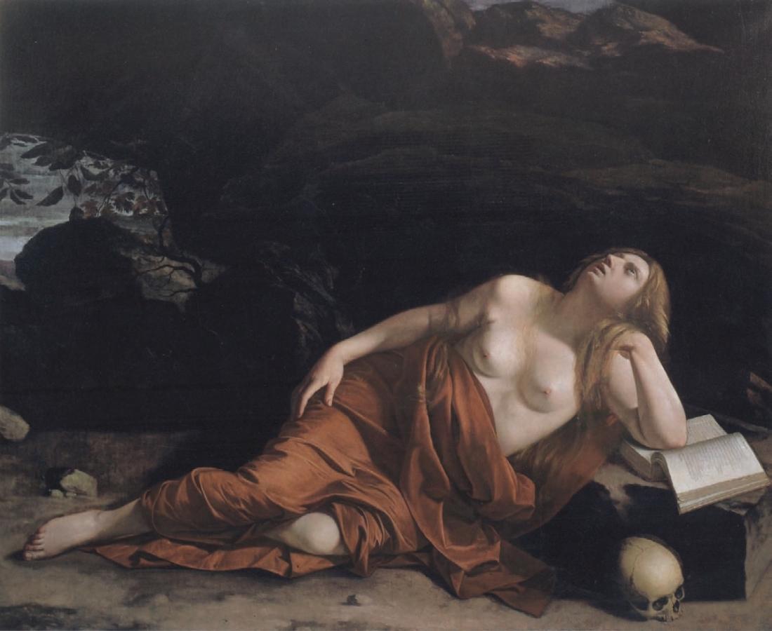 Orazio Gentileschi, The Penitent Magdalene, 1622-23.