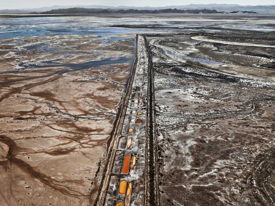Edward Burtynsky, Colorado River Delta #9, Sonora, Mexico, 2012.