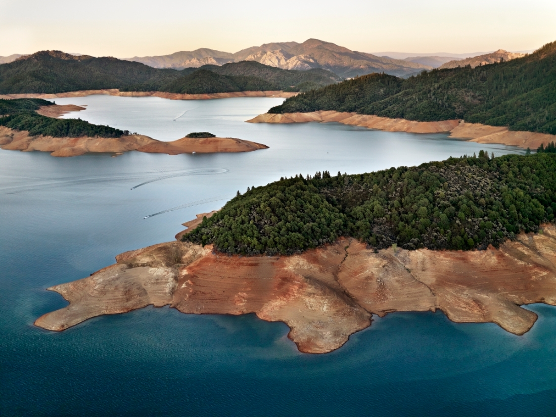 Shasta Lake Reservoir, Northern California, USA, 2009.