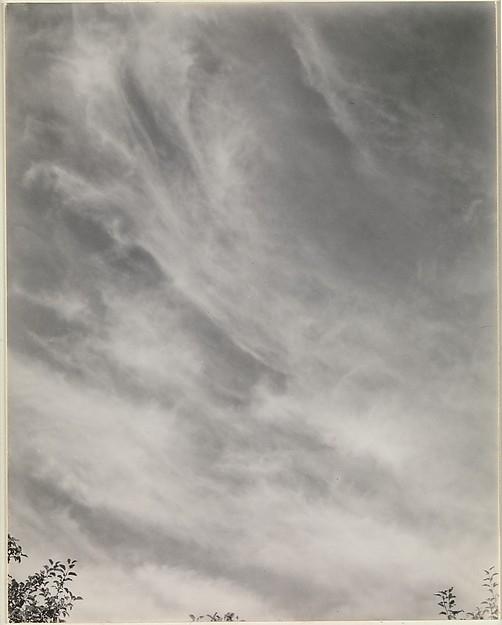 Alfred Stieglitz, Equivalents 27C, 1933.