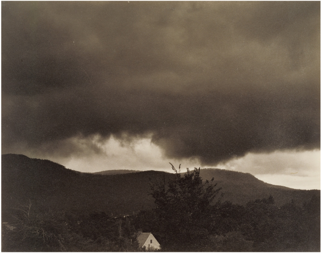 Alfred Stieglitz, Music: A Sequence of Ten Cloud Photographs, No. 1, 1922.