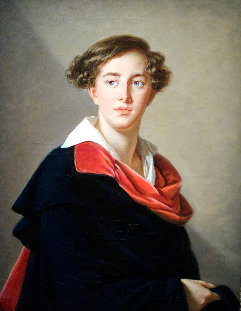 Elisabeth Louise Vigée Le Brun, Count Emmanuel Nikolayevich Tolstoy, 1823.