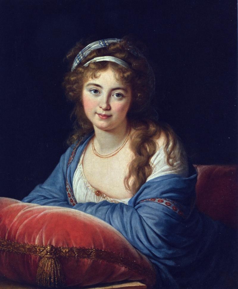 Elisabeth Louise Vigée Le Brun, Countess Ekaterina Vasilievna Skavronskaya, 1796.