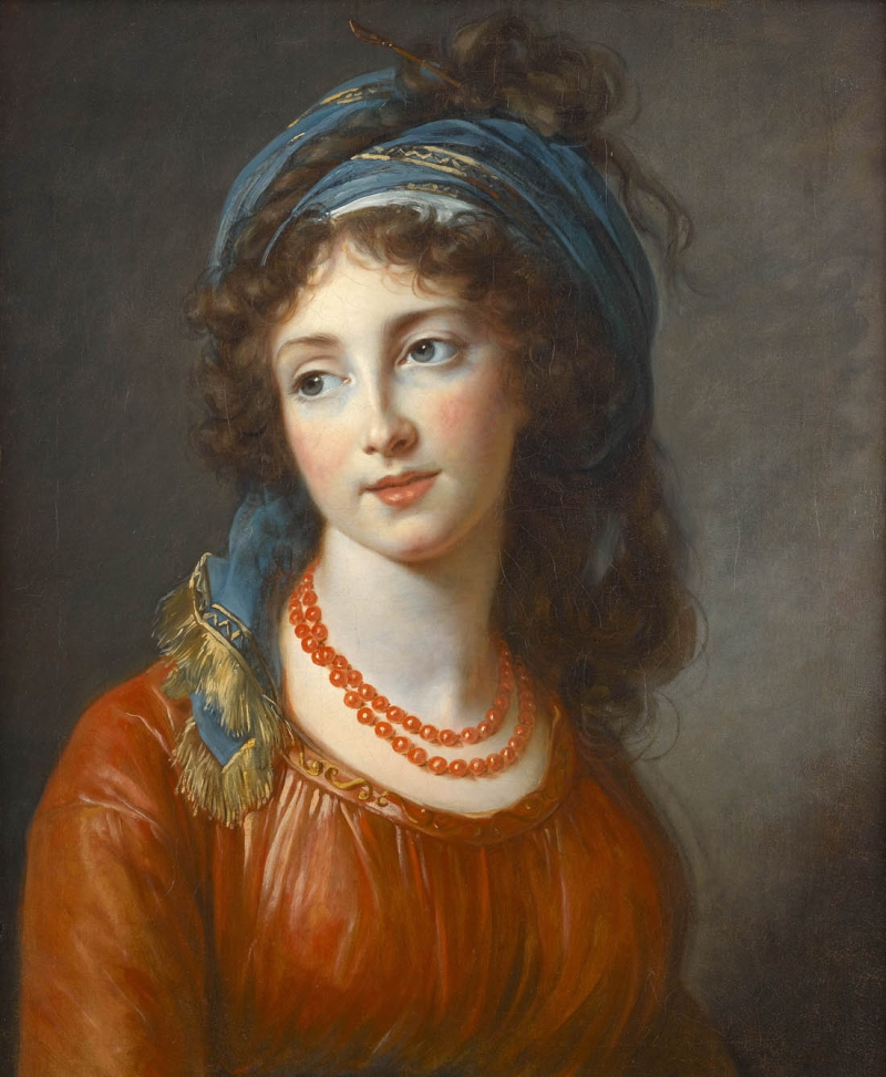 Elisabeth Louise Vigée Le Brun, Duchesse de Guiche, 1794.