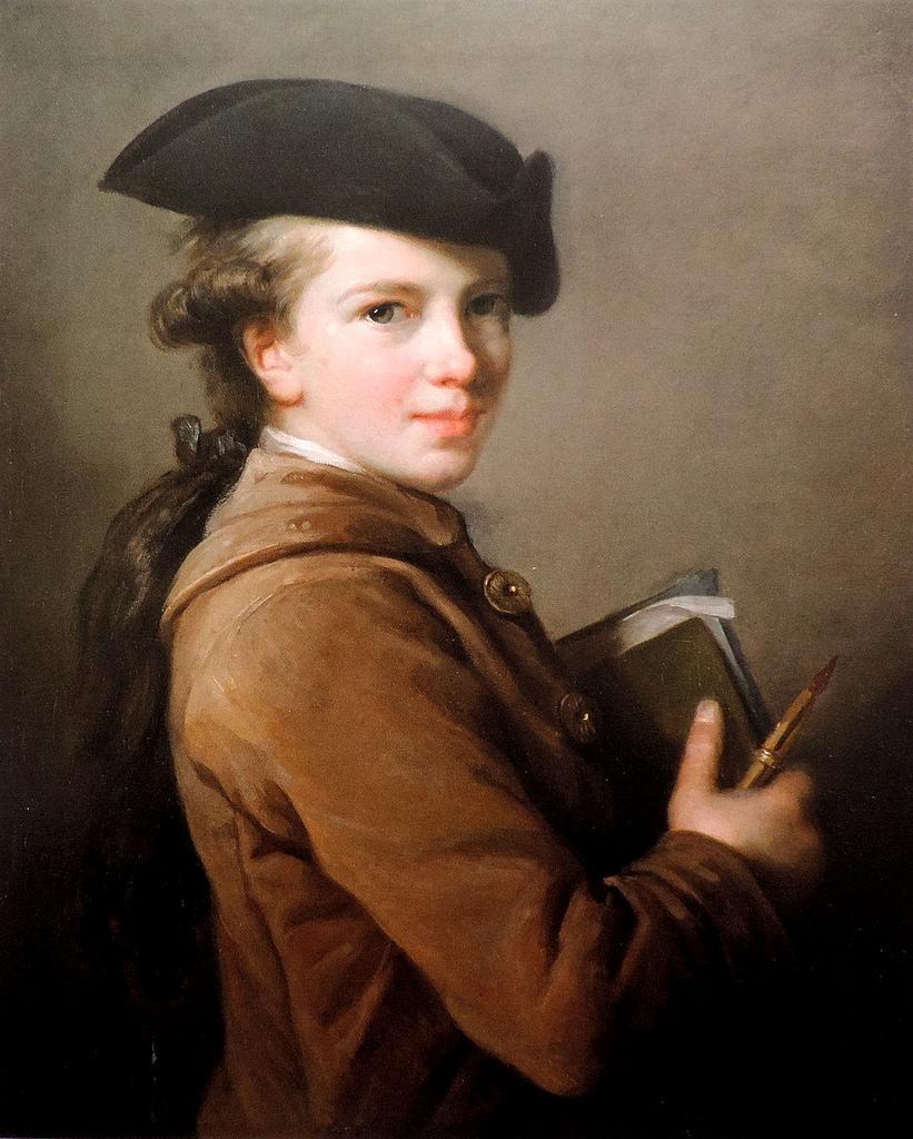Elisabeth Louise Vigée Le Brun, Etienne Vigée, 1773.