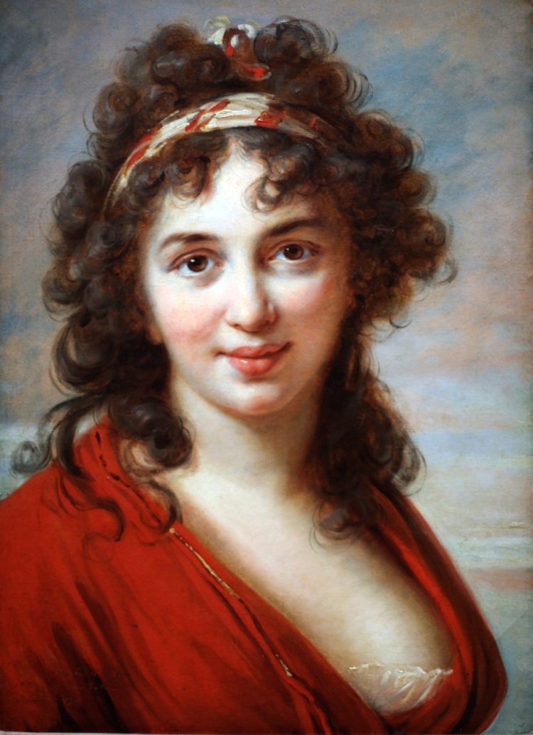 Elisabeth Louise Vigée Le Brun, Isabella Teotochi Marini, 1792.