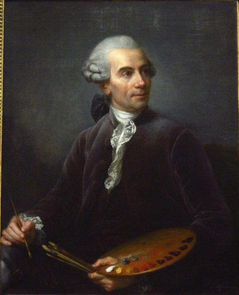 Elisabeth Louise Vigée Le Brun, Joseph Vernet, 1778.