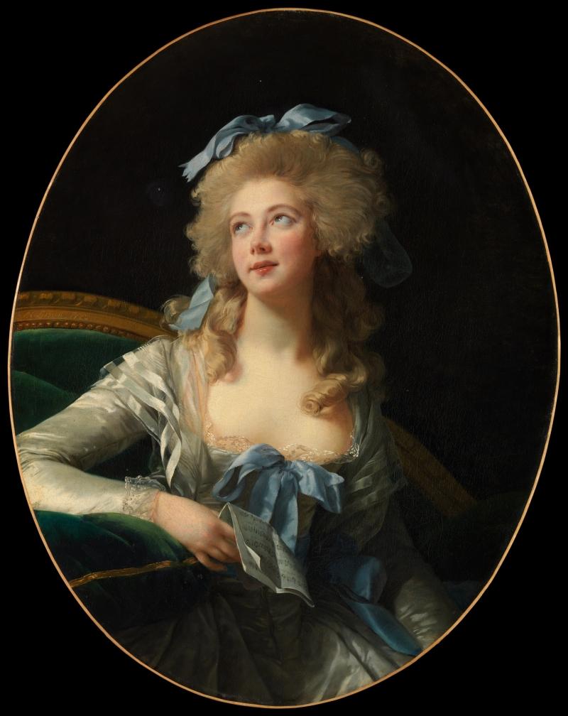 Elisabeth Louise Vigée Le Brun, Madame Grand, 1783.