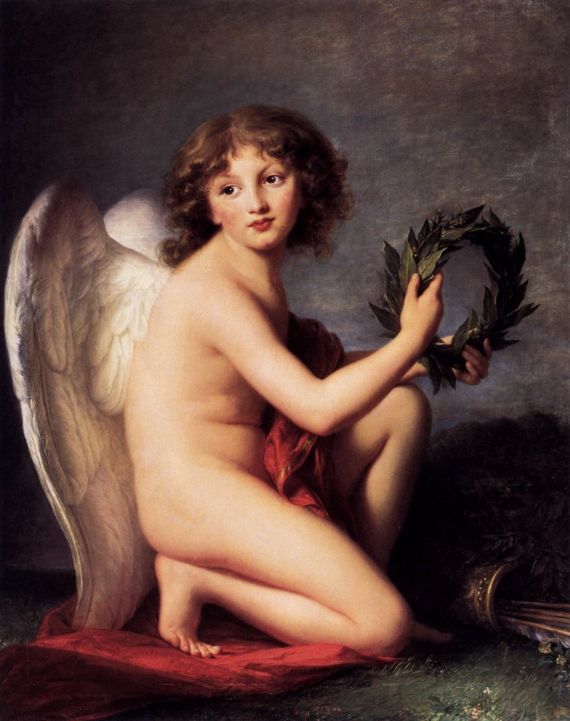 Elisabeth Louise Vigée Le Brun, The Prince Henryk Lubomirski as Love of Glory, 1787-88.