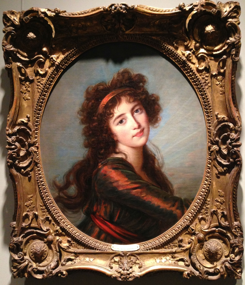 Elisabeth Louise Vigée Le Brun, The Princess von und zu Liechtenstein as Iris, 1793.
