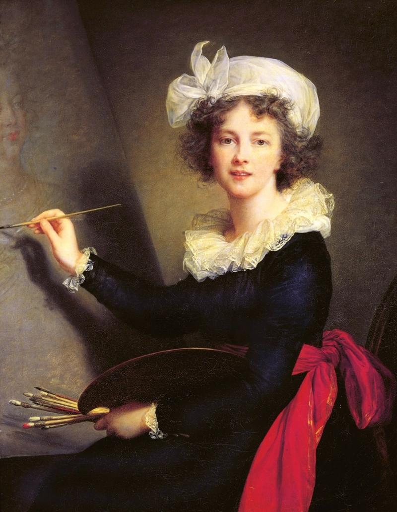 Elisabeth Louise Vigée Le Brun, Self-Portrait, 1790.