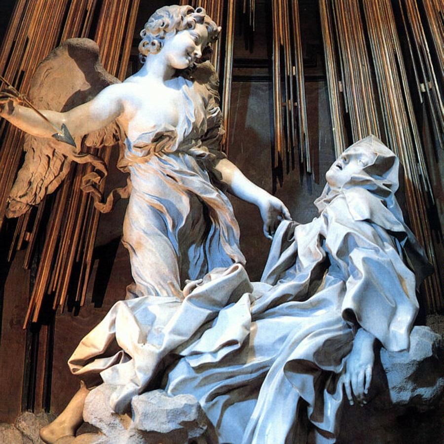 Gian Lorenzo Bernini, Ecstasy of St. Teresa, 1645-52.