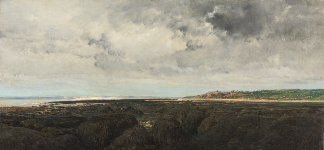 Charles-Francois Daubigny, Villerville Seen from Le Ratier, 1855.
