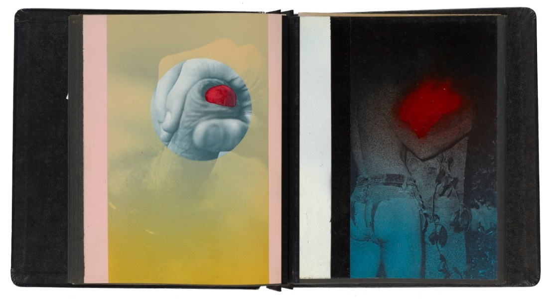 Robert Mapplethorpe, Untitled (Spray paint album), ca. 1970.