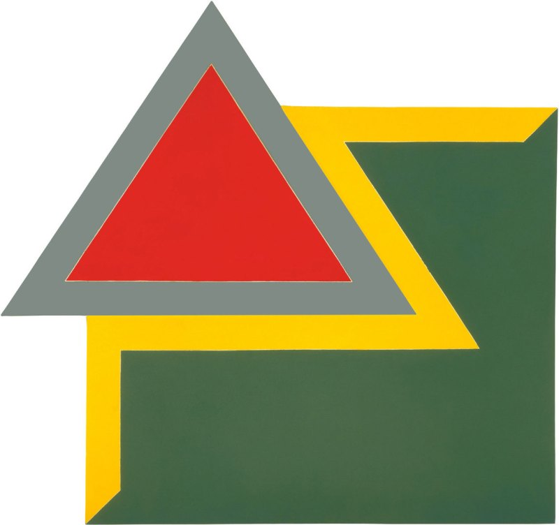 Frank Stella, Chocorua IV, 1966.