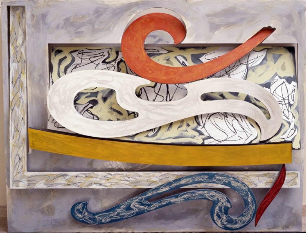 Frank Stella, Eskimo Curlew, 1976.