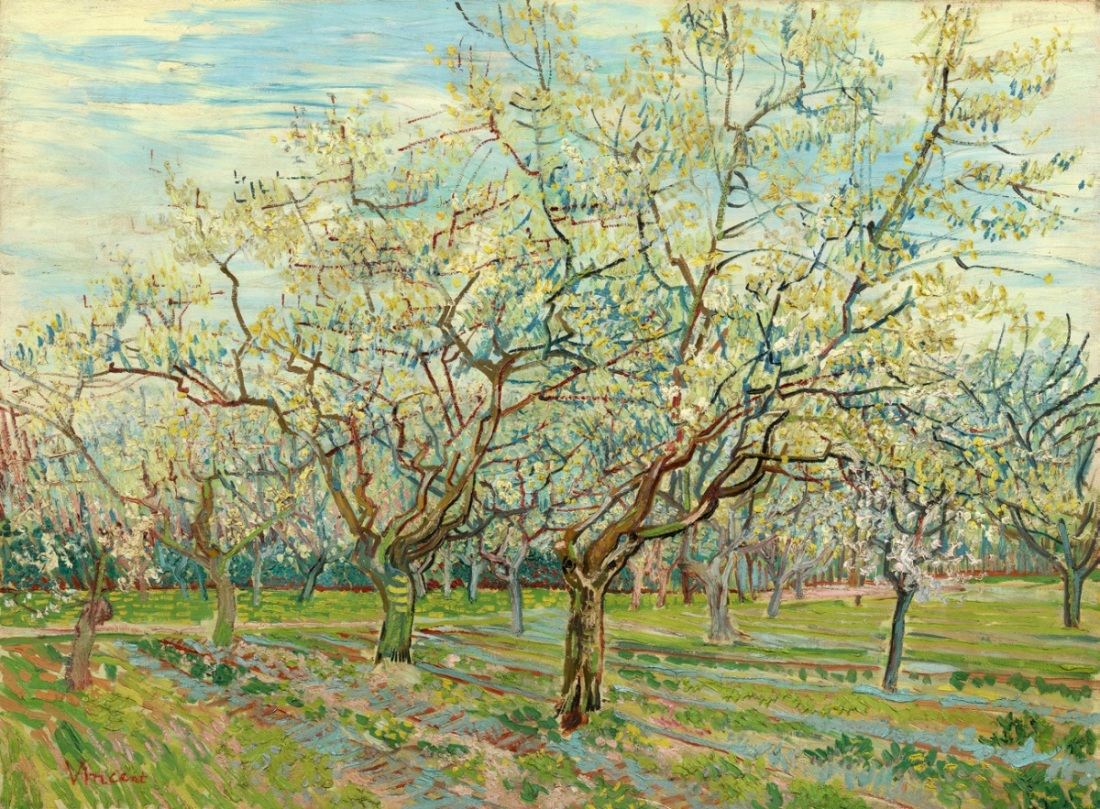 Vincent van Gogh, The White Orchard, 1888.