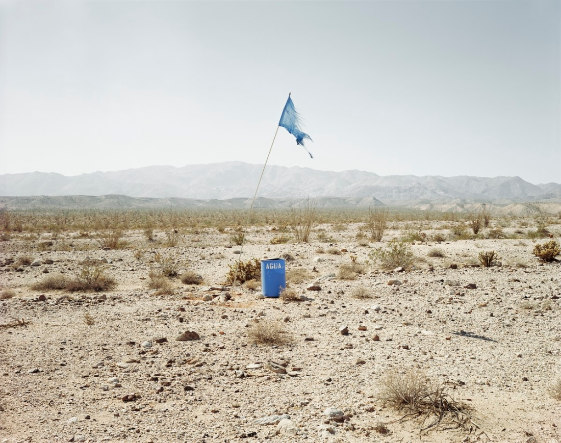 Richard Misrach, Agua #1, near Calexico, California, 2004.