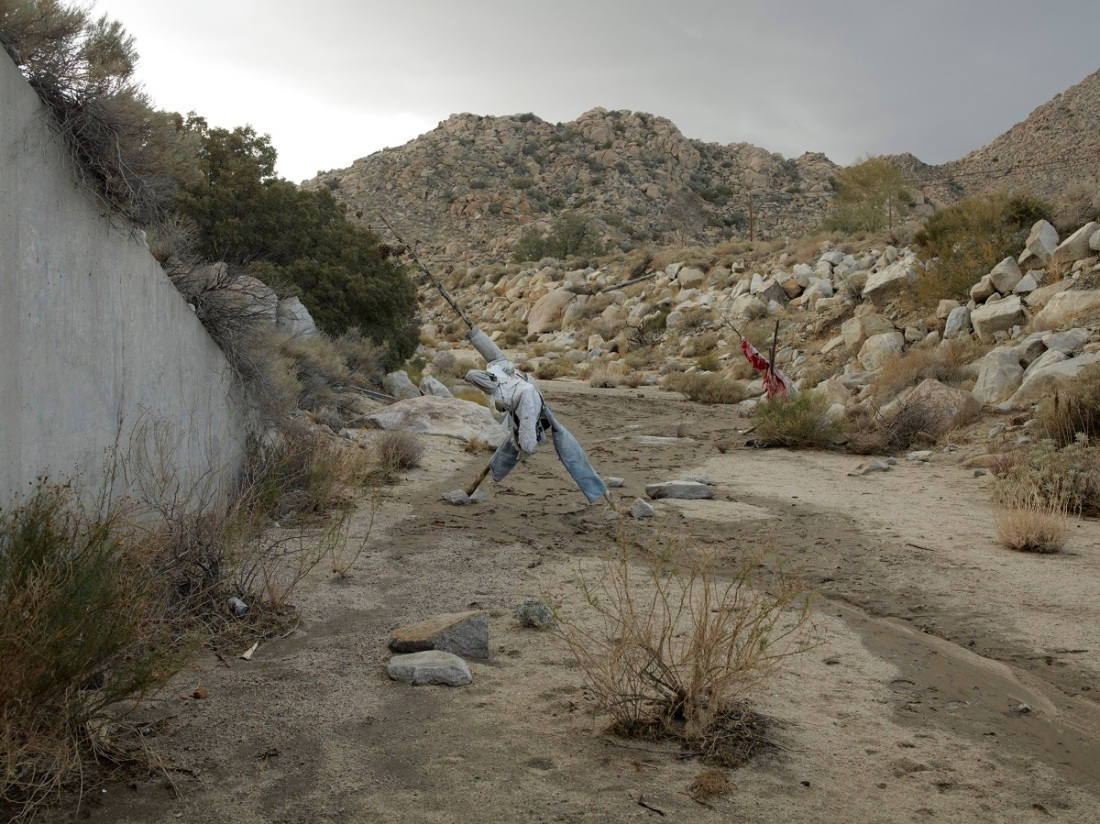 Richard Misrach, Effigy #3, near Jacumba, California, 2009.
