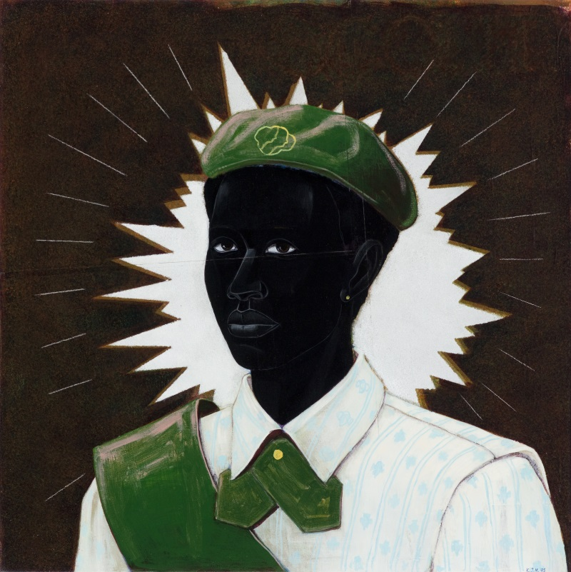 Kerry James Marshall, Scout (Girl), 1995.