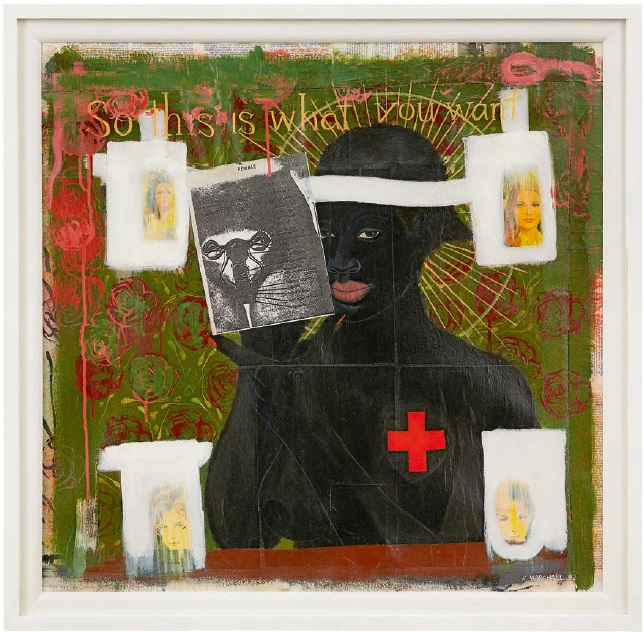 Kerry James Marshall, So This Is What You Want, 1992.