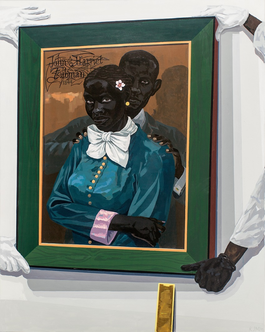 Kerry James Marshall, Still Life with Wedding Portrait, 2015.