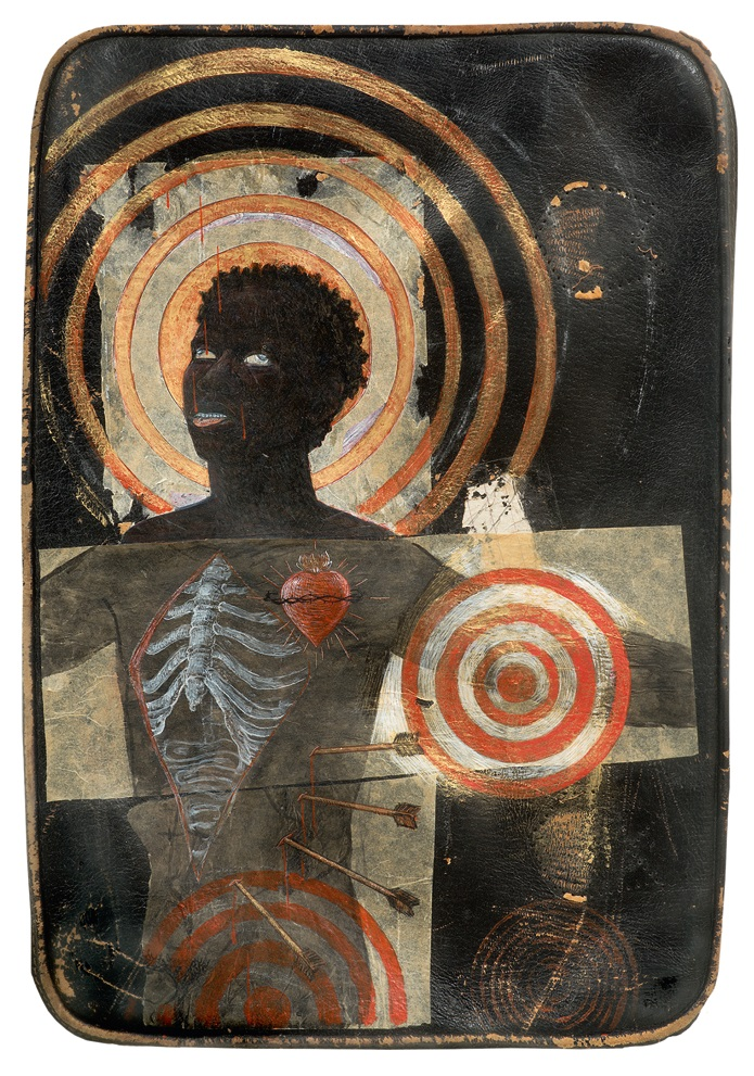 Kerry James Marshall, The Ecstasy of Communion, 1990. (Collection of Betye Saar.)