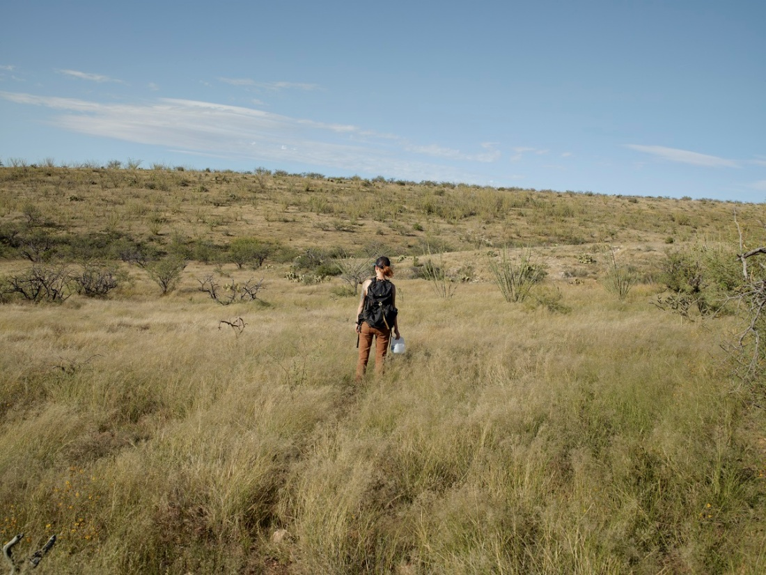 Richard Misrach, Lee S., No More Deaths, near Arivaca, Arizona, 2014.