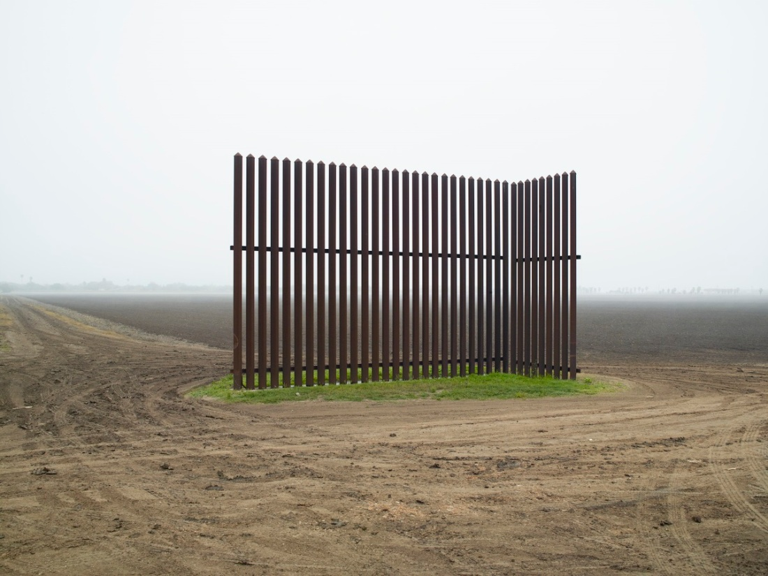 Richard Misrach, Wall, Los Indios, Texas, 2015.