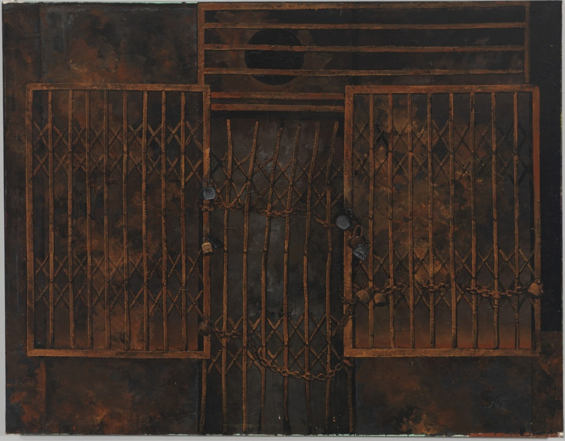 Martin Wong, CLosed, 1984-85.
