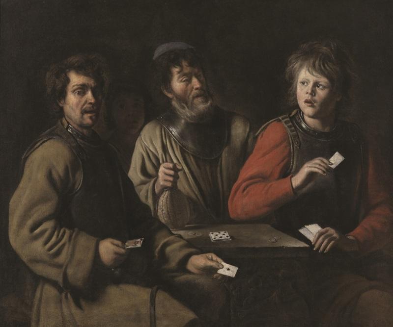 Le Nain, The Card Players, ca. 1640-45.