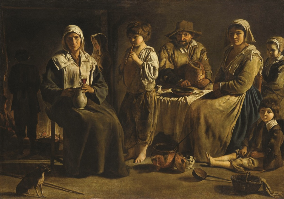 Le Nain, The Peasant Family, ca. 1642.