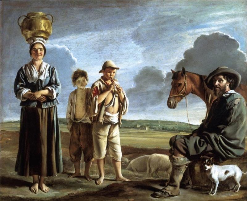 Le Nain, The Resting Horseman, ca. 1640.
