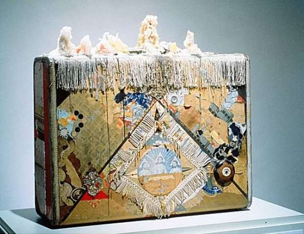 Bruce Conner, Suitcase, 1961-63.