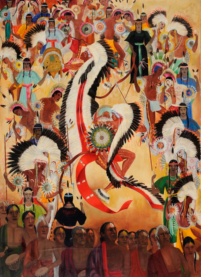 Dorothy Brett, Feather Dance, nd.