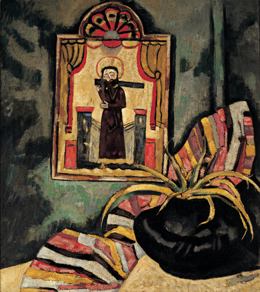 Marsden Hartley, El Santo, c. 1919.