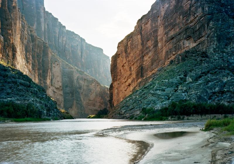 Victoria Sambunaris, Untitled (Santa Elena Canyon), TX, 2010.
