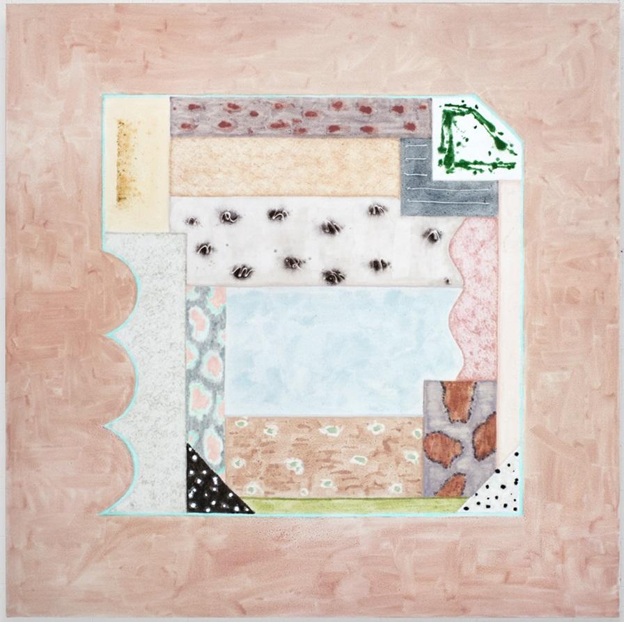Rebecca Morris, Untitled (#16-13), 2013.