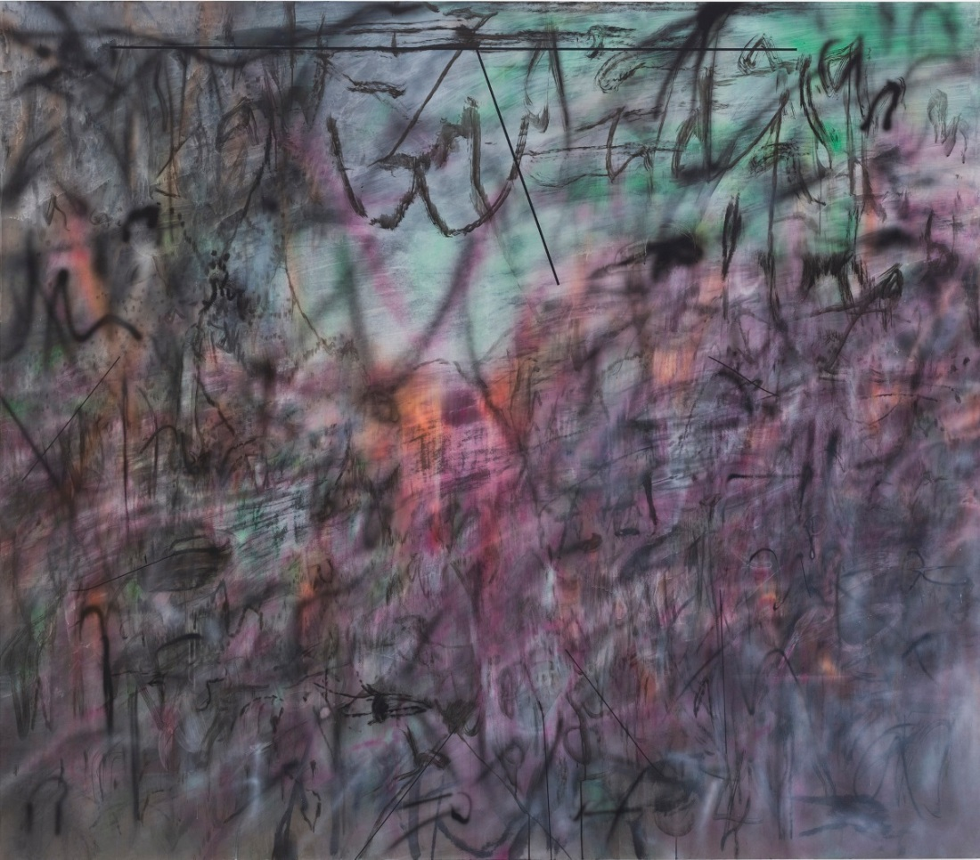 Julie Mehretu, Conjured Parts (eye), 2016.