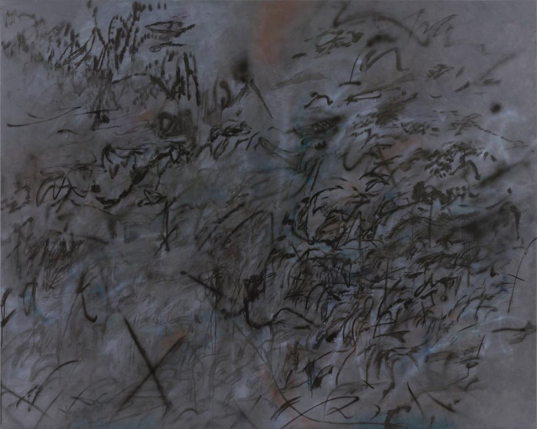 Julie Mehretu, Conjured Parts (Tongues), 2015-16.