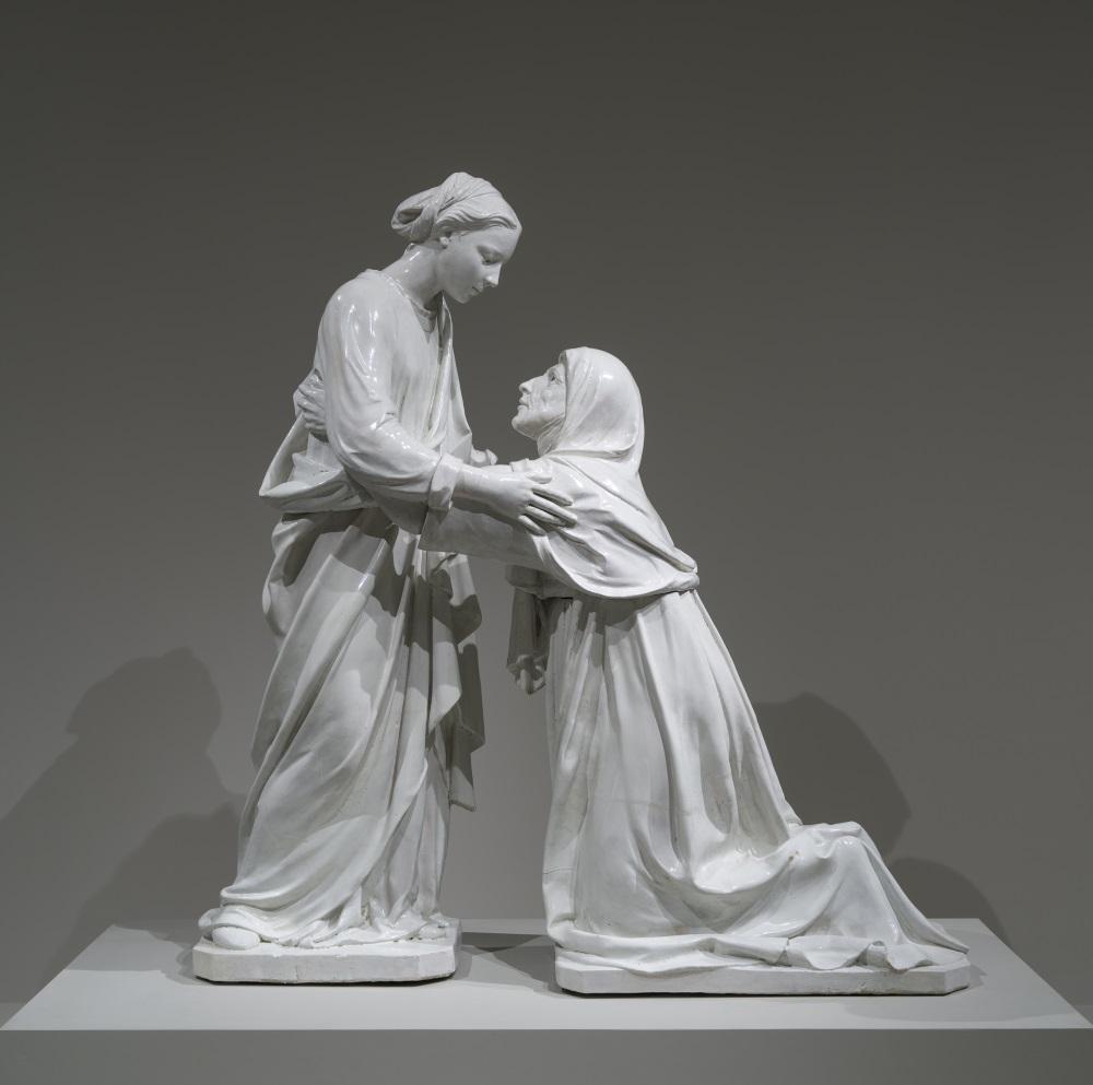 Luca della Robbia, The Visitation, about 1445.