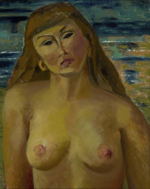 Agnes Martin, Nude, 1947.