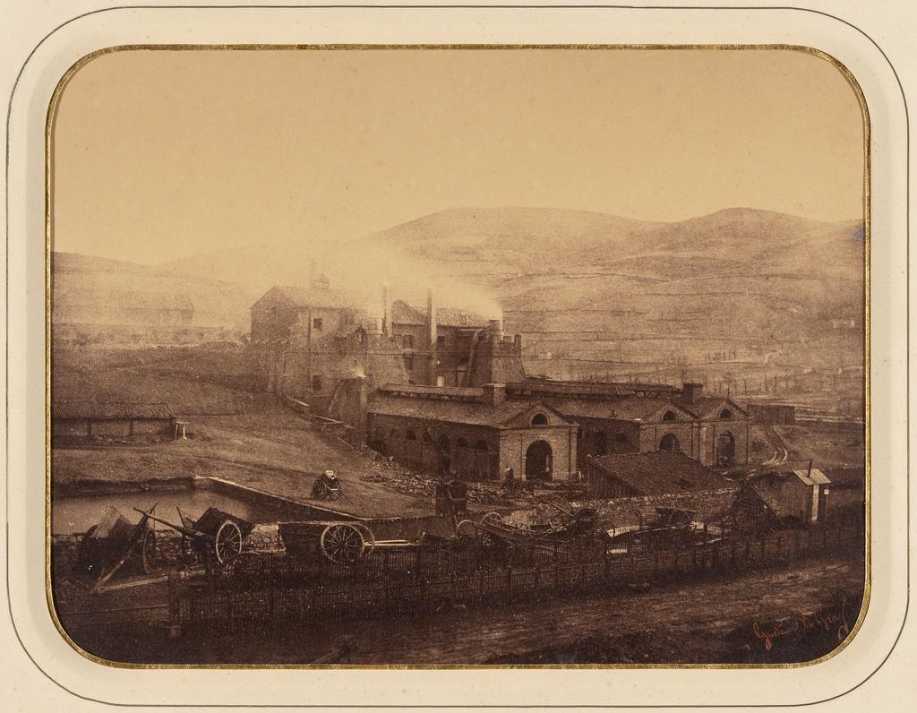 Gustuave Le Gray, Factory, Terre-Noire, 1851-55.