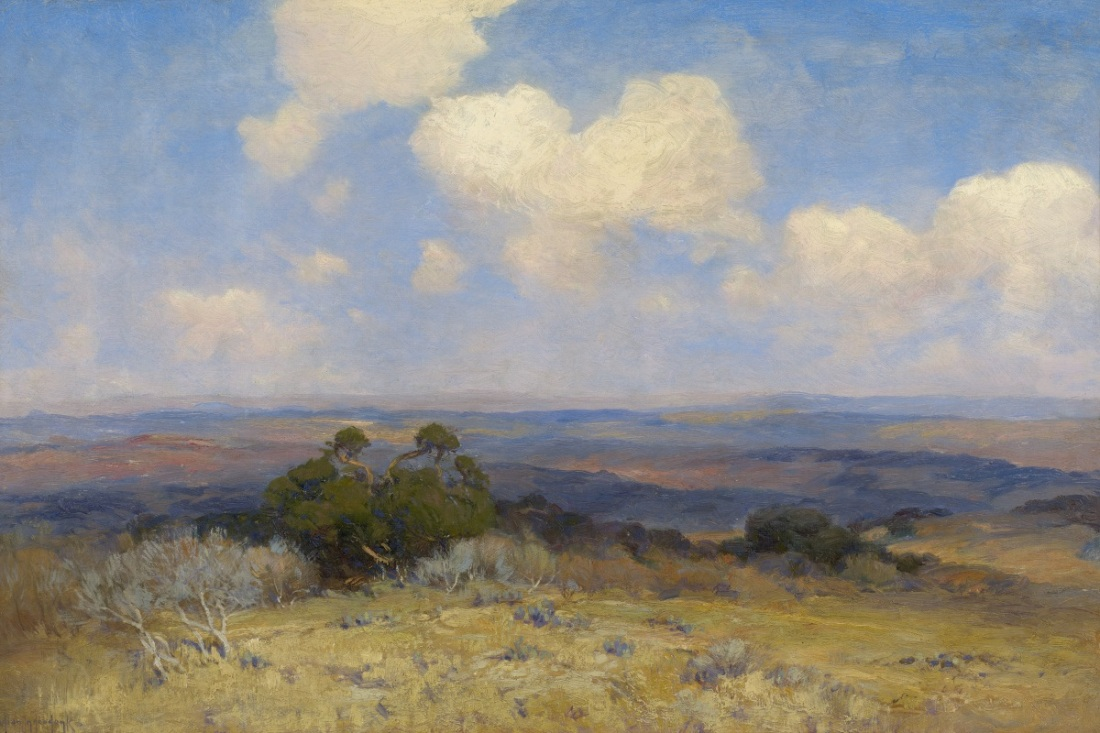Julian Onderdonk, Sunlight and Shadow, ca. 1910.