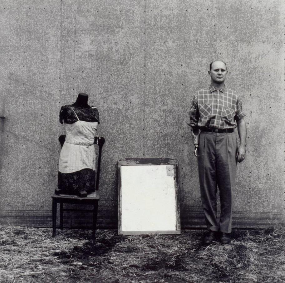 Ralph Eugene Meatyard, Untitled [Cranston Ritchie], 1958-59.
