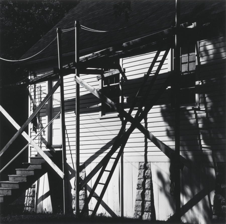 Robert C. May, Untitled [Dark  shadows on building], 1967.