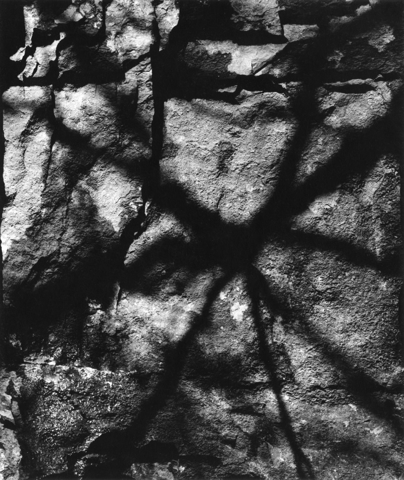 Cranston Ritchie, Untitled [Shadows on rock[, 1958.