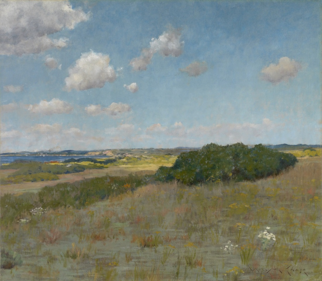 William Merritt Chase, Sunlight and Shadow, Shinnecock Hills, ca. 1895.