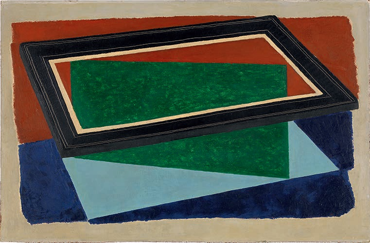 Joseph Albers, Black Frame, 1934.