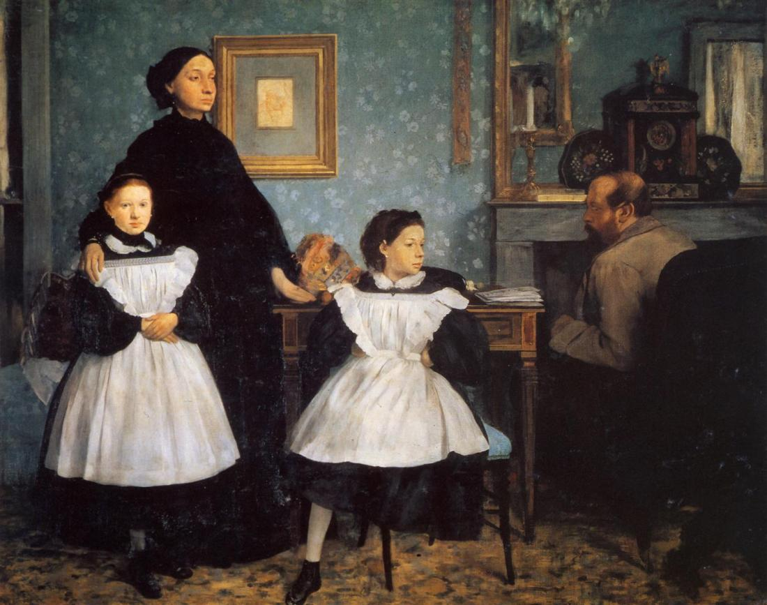 Edgar Degas, The Bellelli Family, ca. 1858-67.